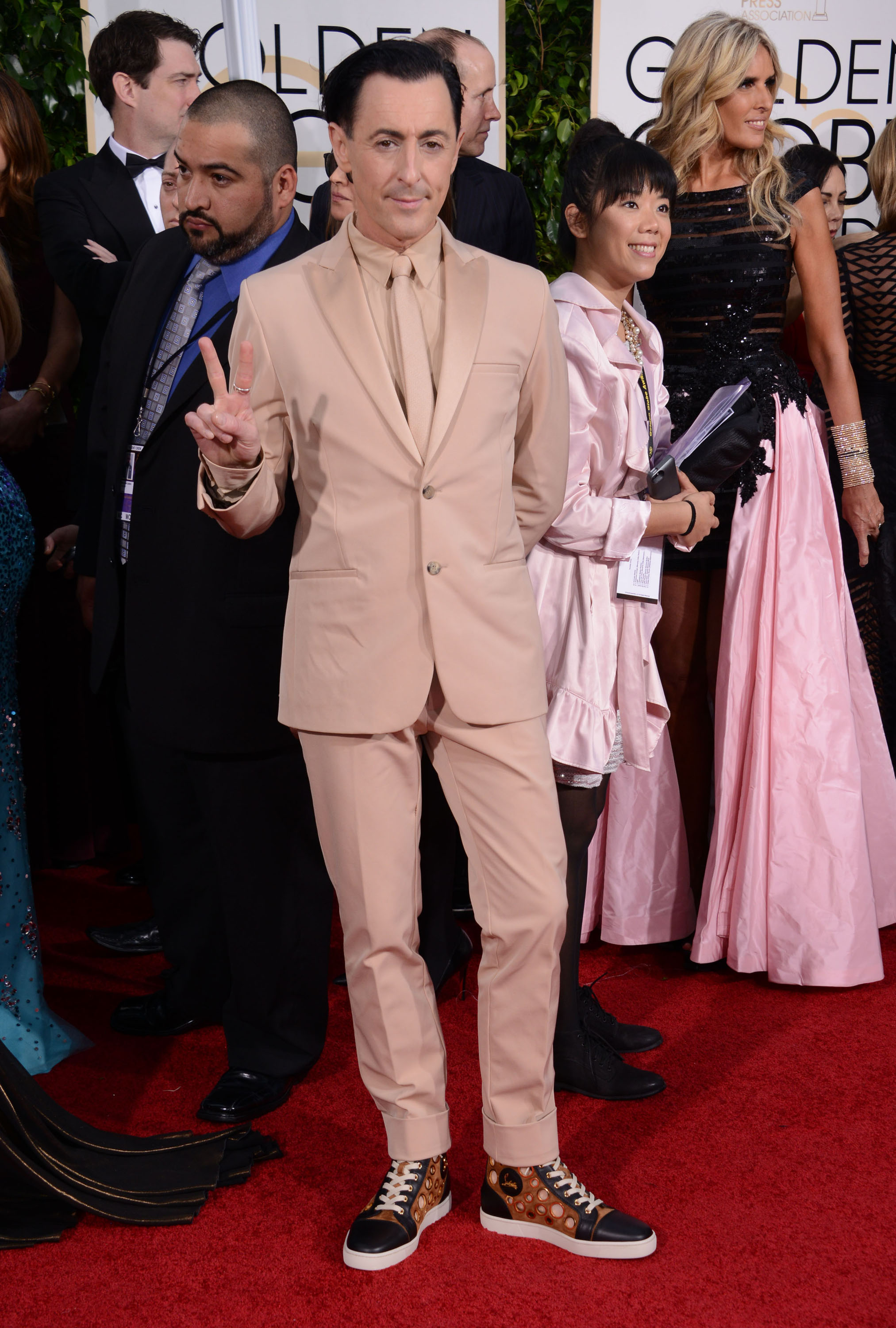 Golden Globes Alan Cumming Carpet: Alan Cumming