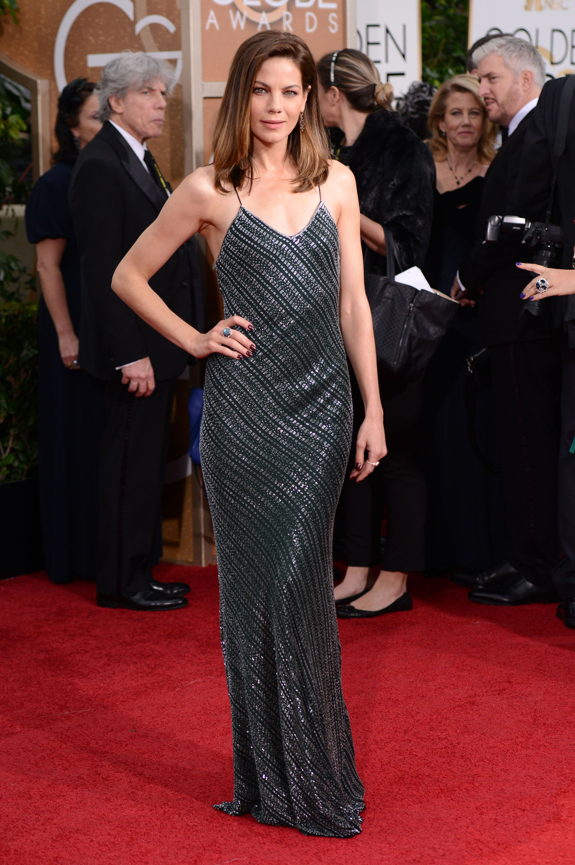 Golden Globes Fug or Fab: Michelle Monaghan in Jason Wu