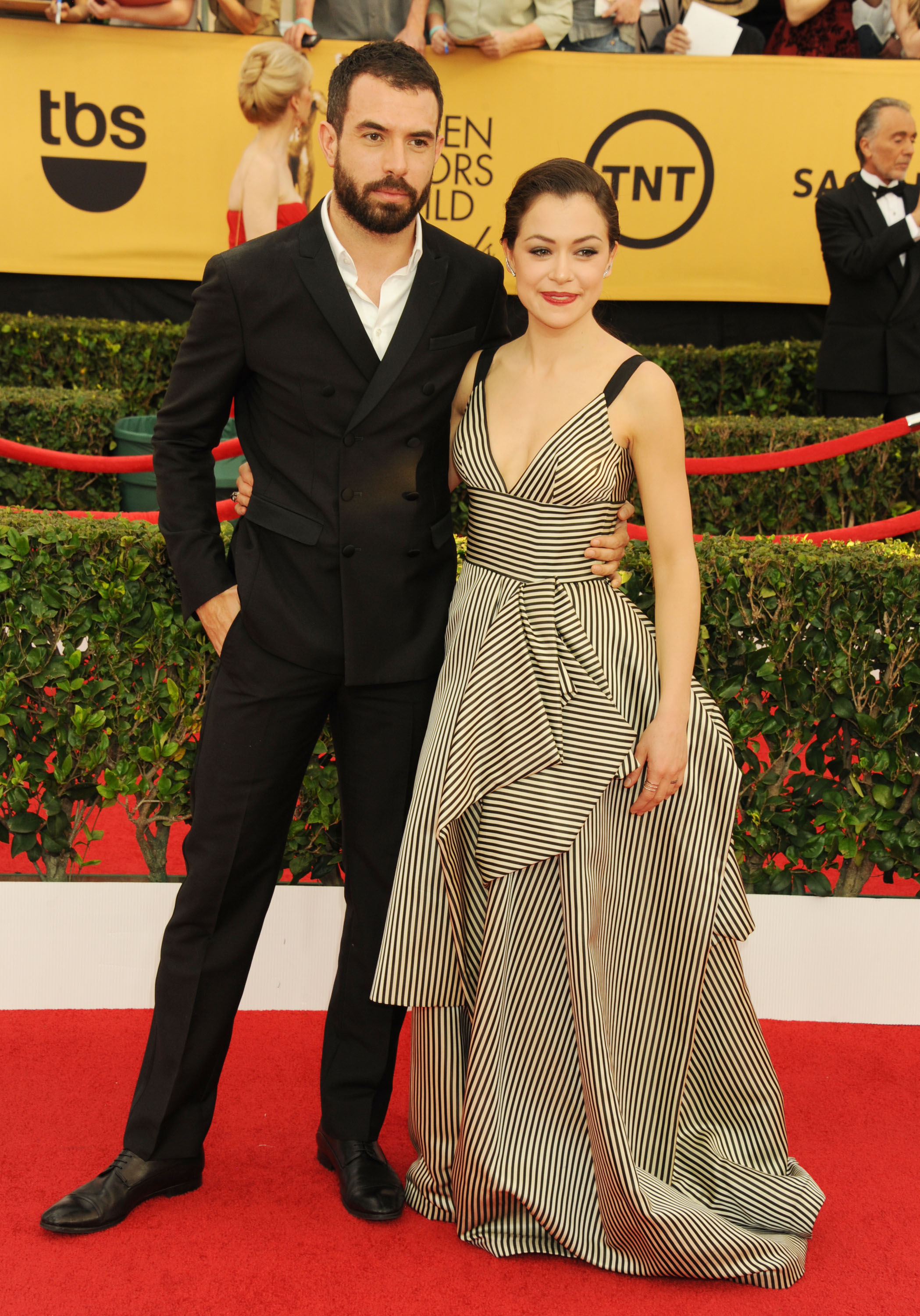 SAG Awards Well Played: Tatiana Maslany in Oscar de la Renta