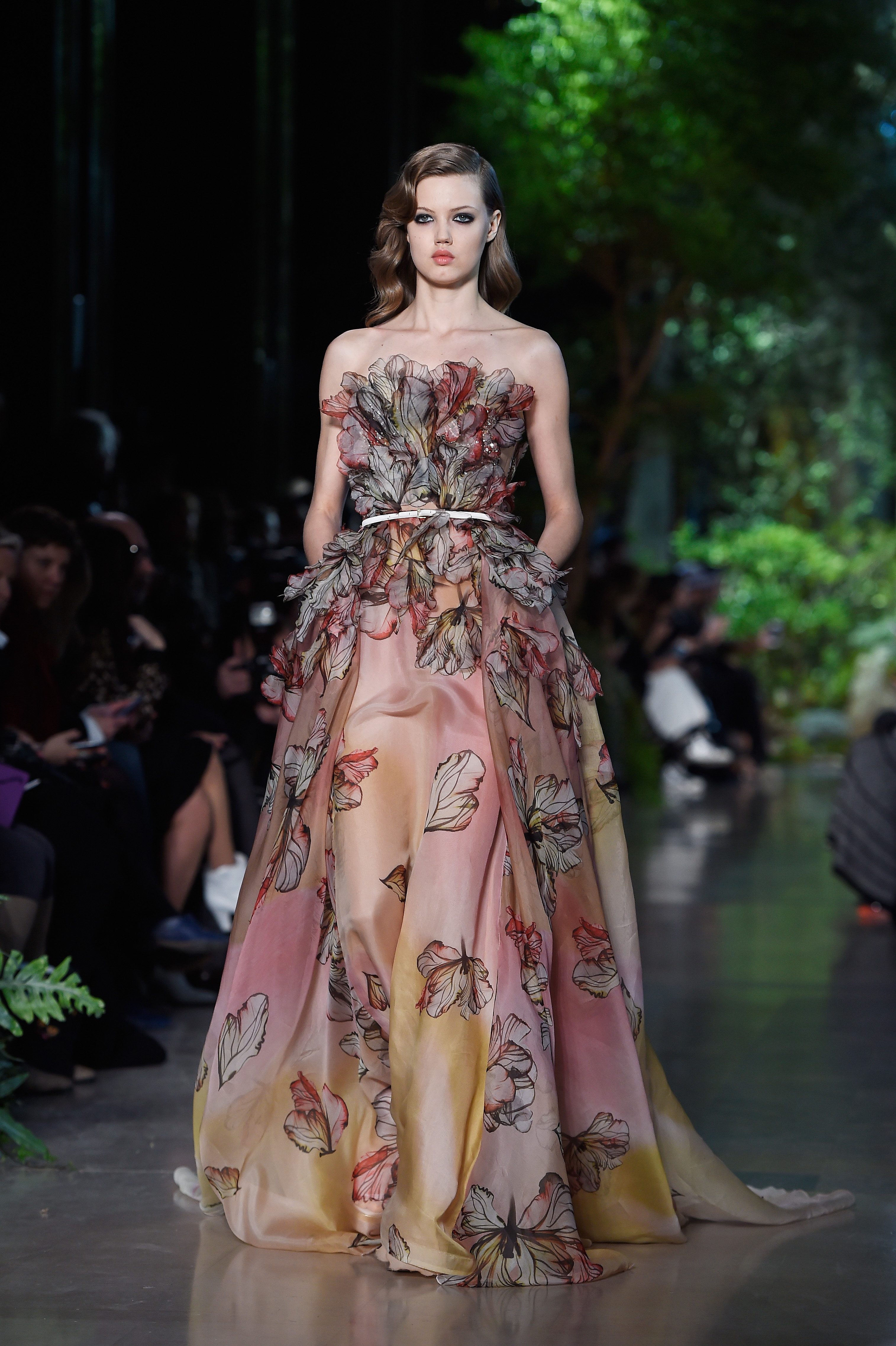 High fugshion elie saab spring summer 2015 haute couture for Summer haute couture