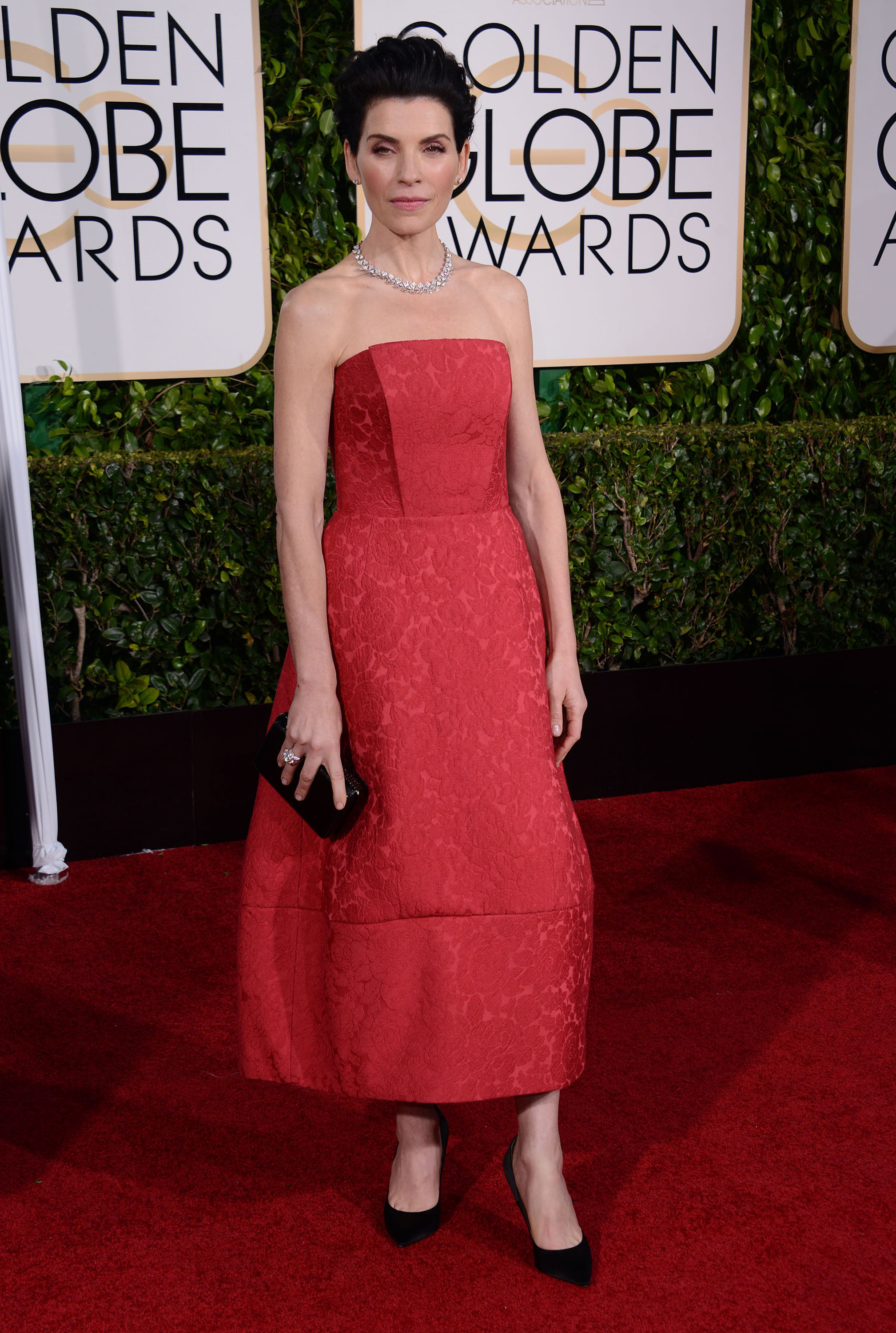 Julianna Margulies at the 2015 Golden Globes