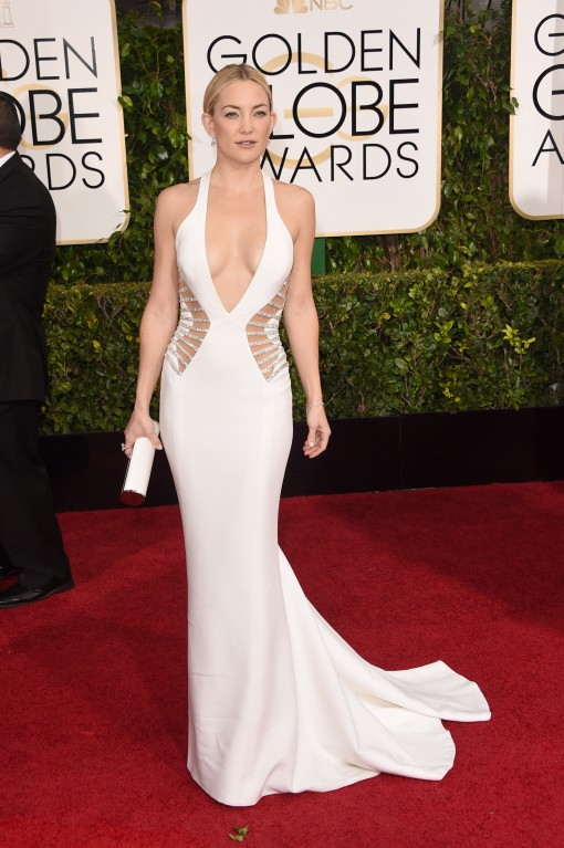 Golden Globes Fug or Fab: Kate Hudson in Versace