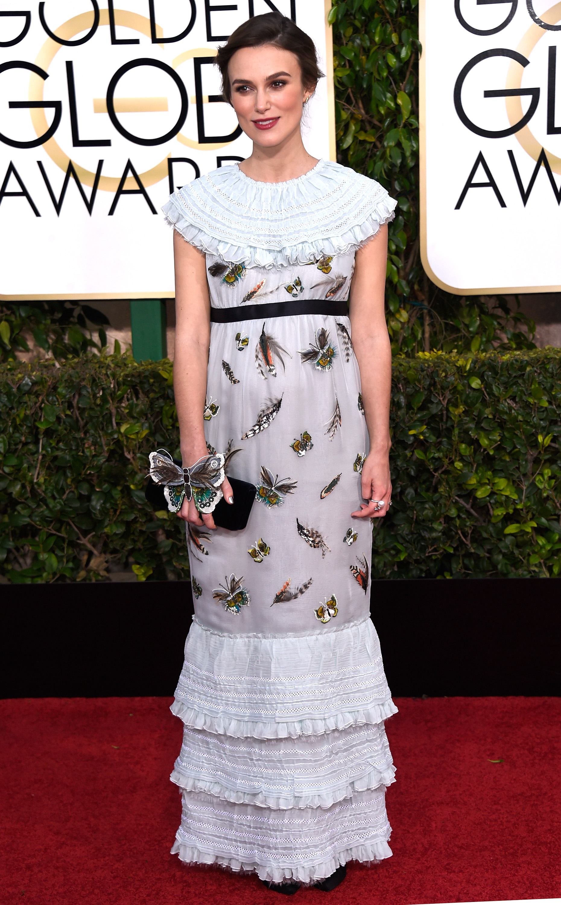 Keira Knightley at 2015 Golden Globes