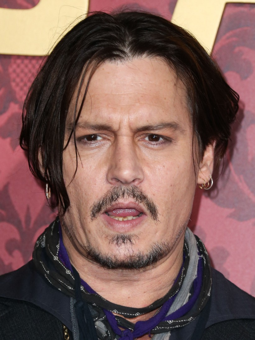 johnny depp los angeles mortdecai premiere
