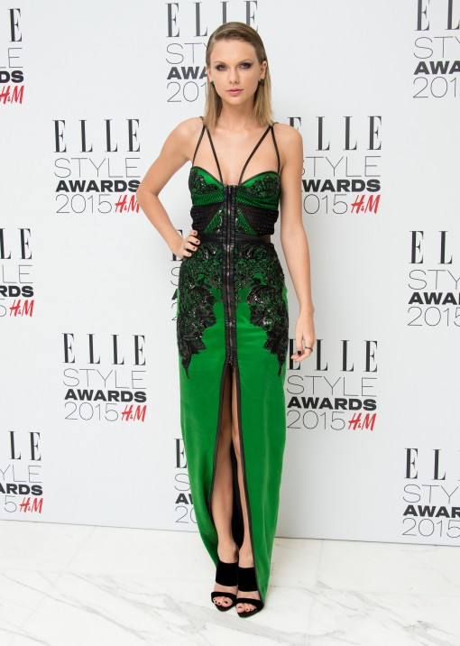 Unfug or Fab: Taylor Swift in Julien Macdonald at the Elle Style Awards