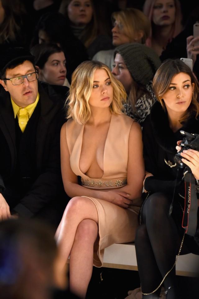 Reem Acra - Front Row - Mercedes-Benz Fashion Week Fall 2015
