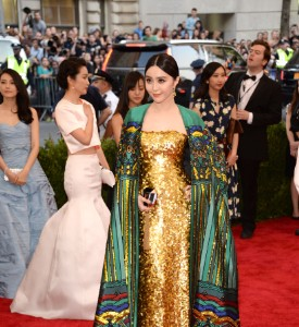 Met Gala Well Played, Fan BingBing in Christopher Bu
