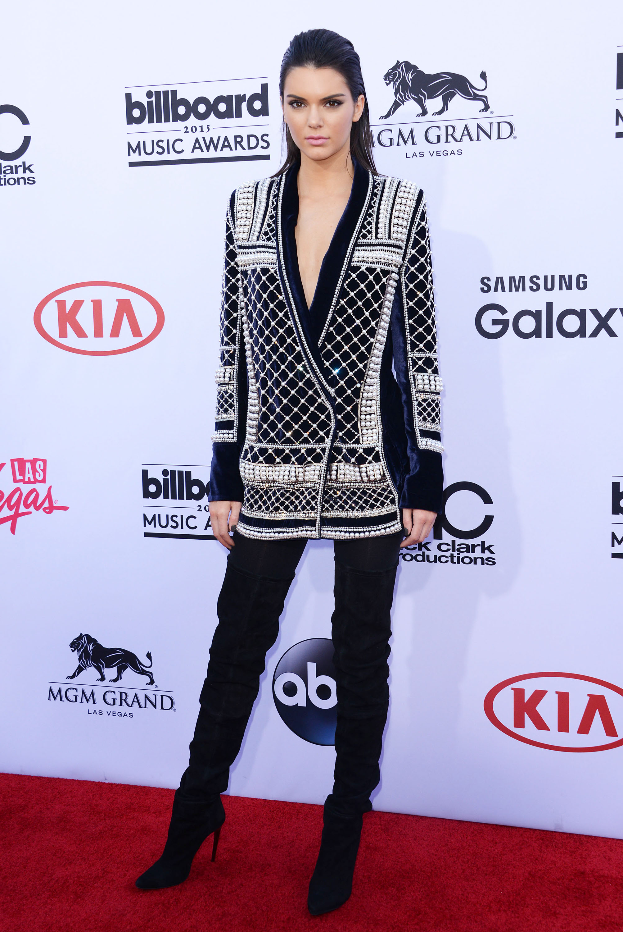 Billboard Music Awards Fugs and Fines: Two Jenners and Jourdan Dunn in Balmain