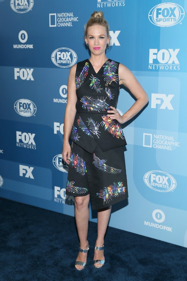 january jones fox upfront