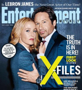 Fug or Fab the Cover: The Entertainment Weekly X-Files Cover
