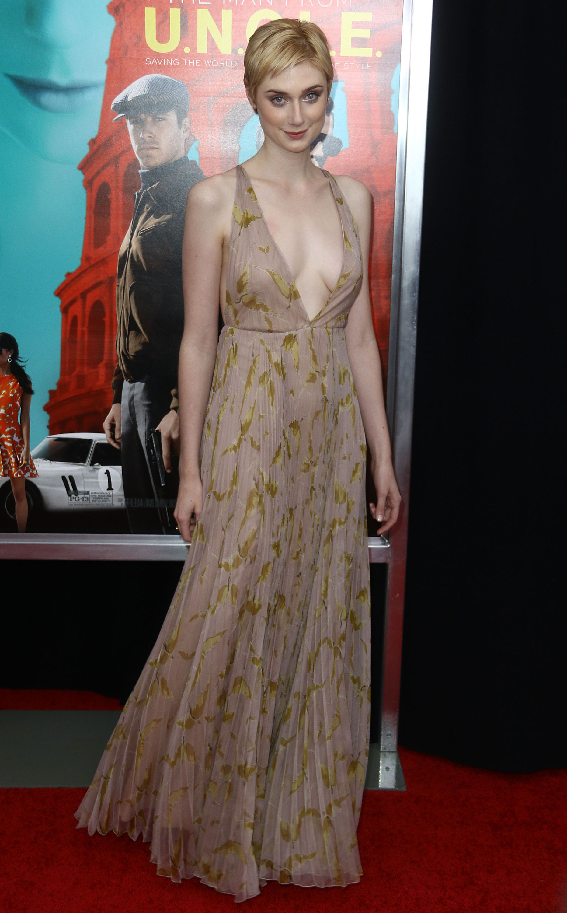 The Man From F.U.G.C.L.E.: Elizabeth Debicki in Valentino