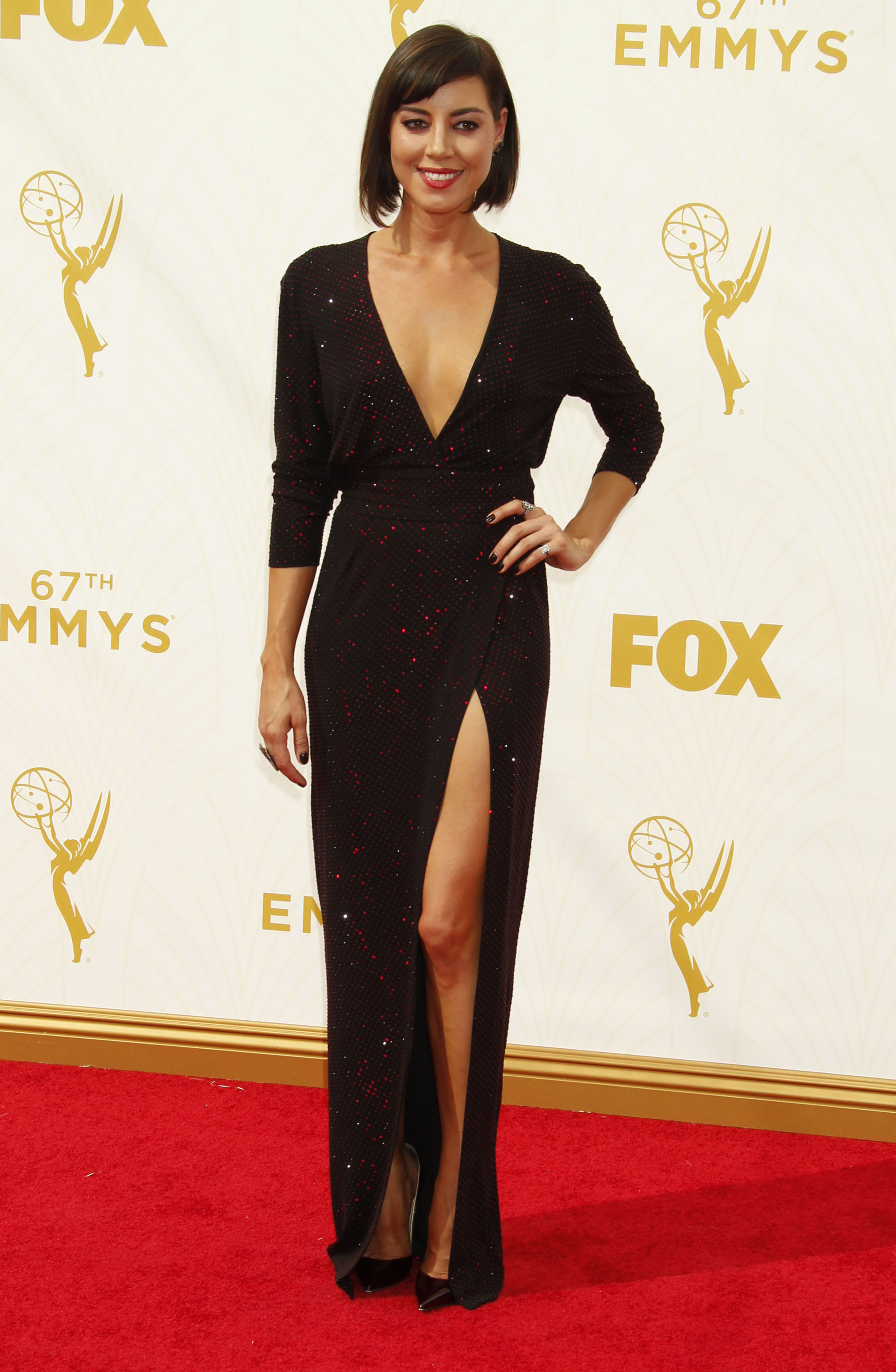 Emmy Awards Fugs and Fabs: Basic Black on the Red Carpet
