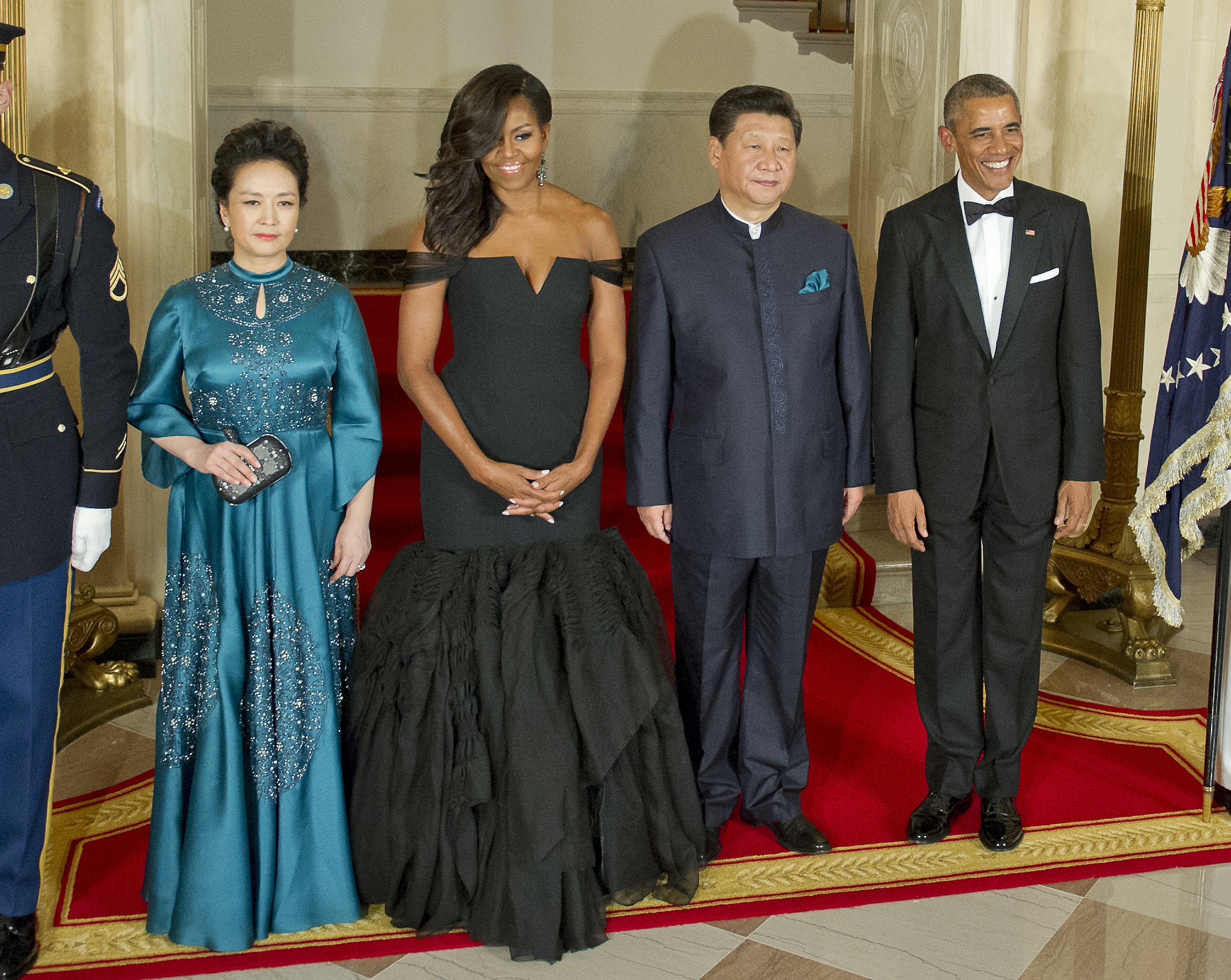 Fug or Fab: Michelle Obama in Vera Wang