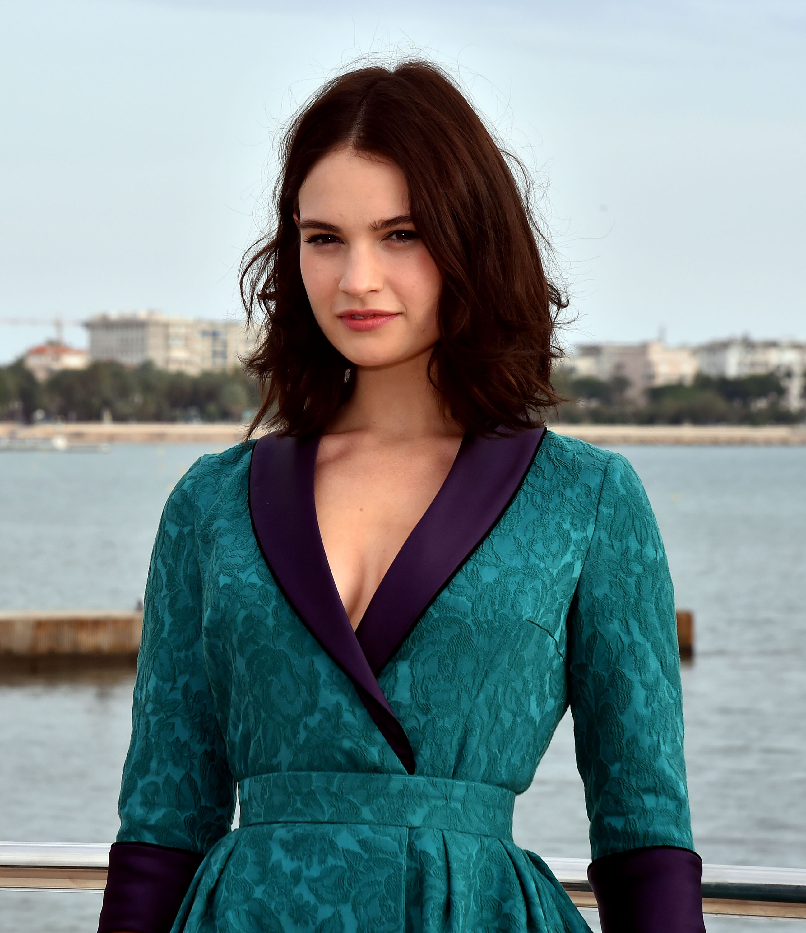 Unfug or Fab: Lily James in Ulyana Sergeenko