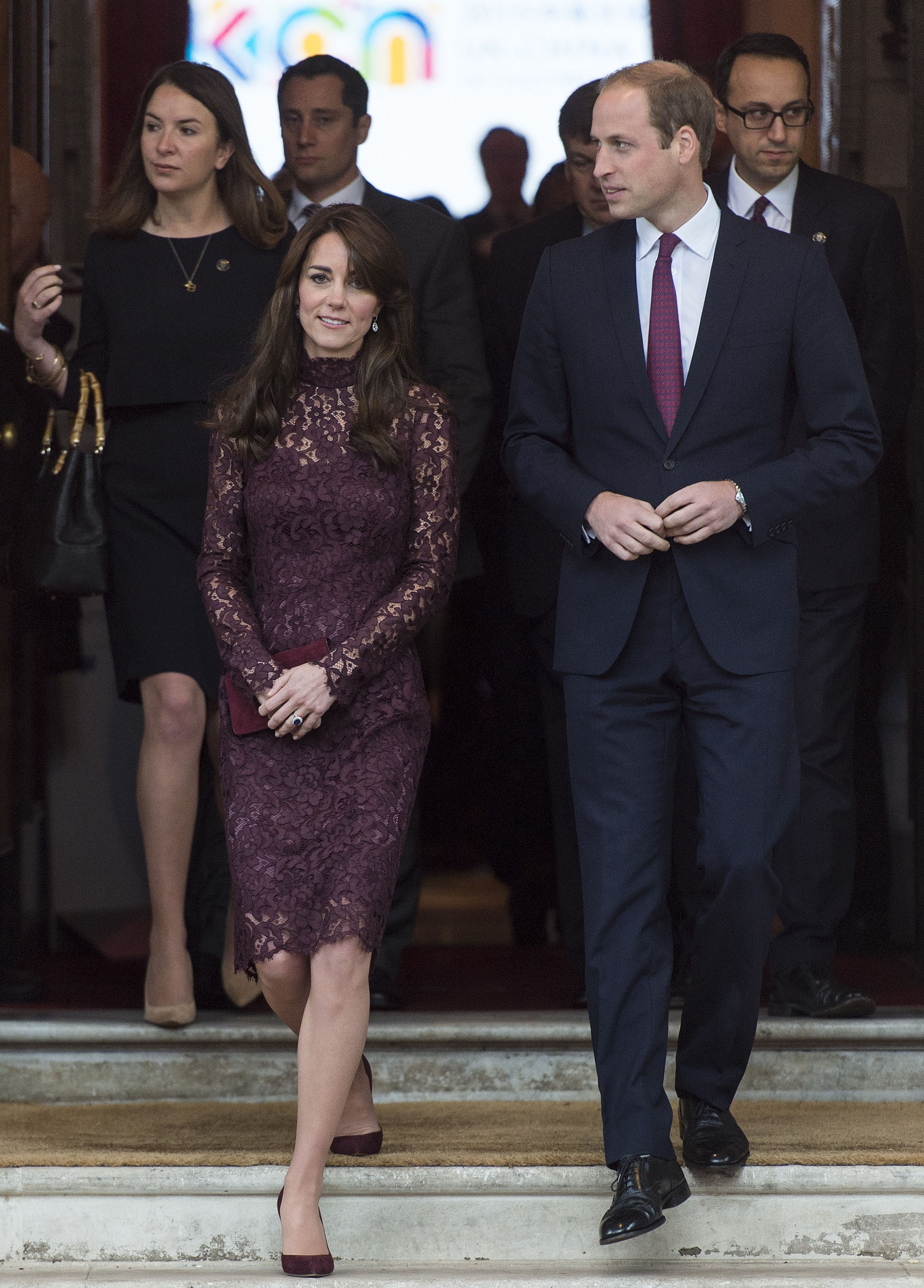 Royally Played, Wills and Kate (in Dolce & Gabbana)