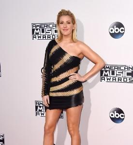 American Music Awards Fug Carpet: Ellie Goulding in  Alexandre Vauthier Haute Couture