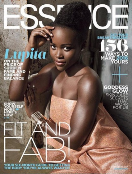 lupita nyong'o essence magazine cover