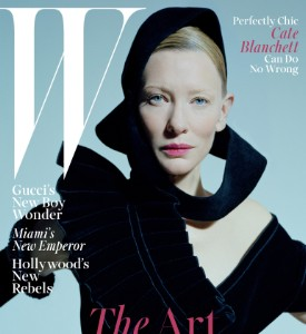 Fug or Fab the Cover: Cate Blanchett on W Magazine, January 2016
