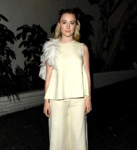 Fuglyn: Saoirse Ronan in Roksanda at the W Magazine Party