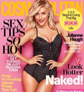 Fug the Cover: Julianne Hough on Cosmopolitan, February 2016