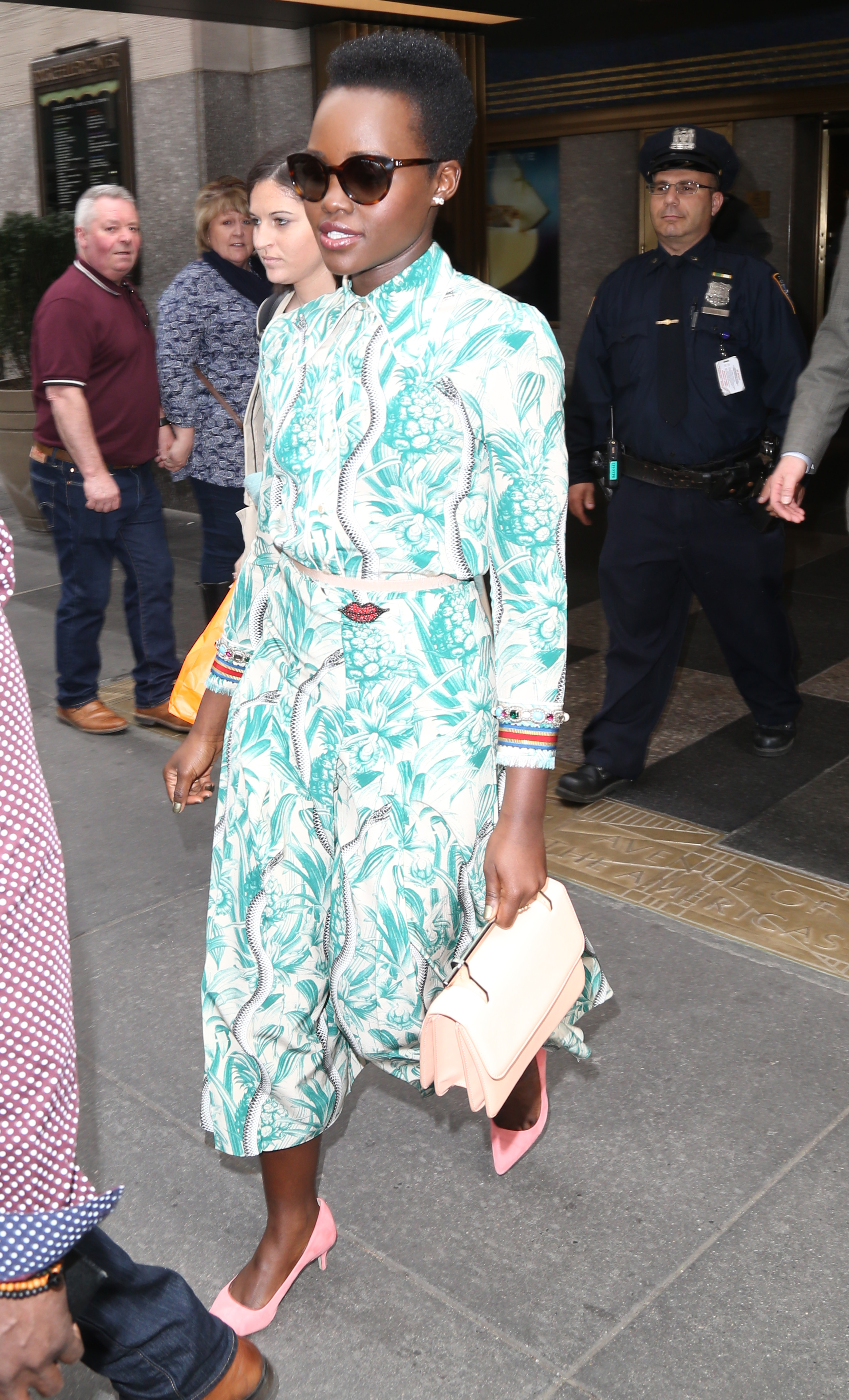 Lupita Nyong'o at AOL Build Speaker Series