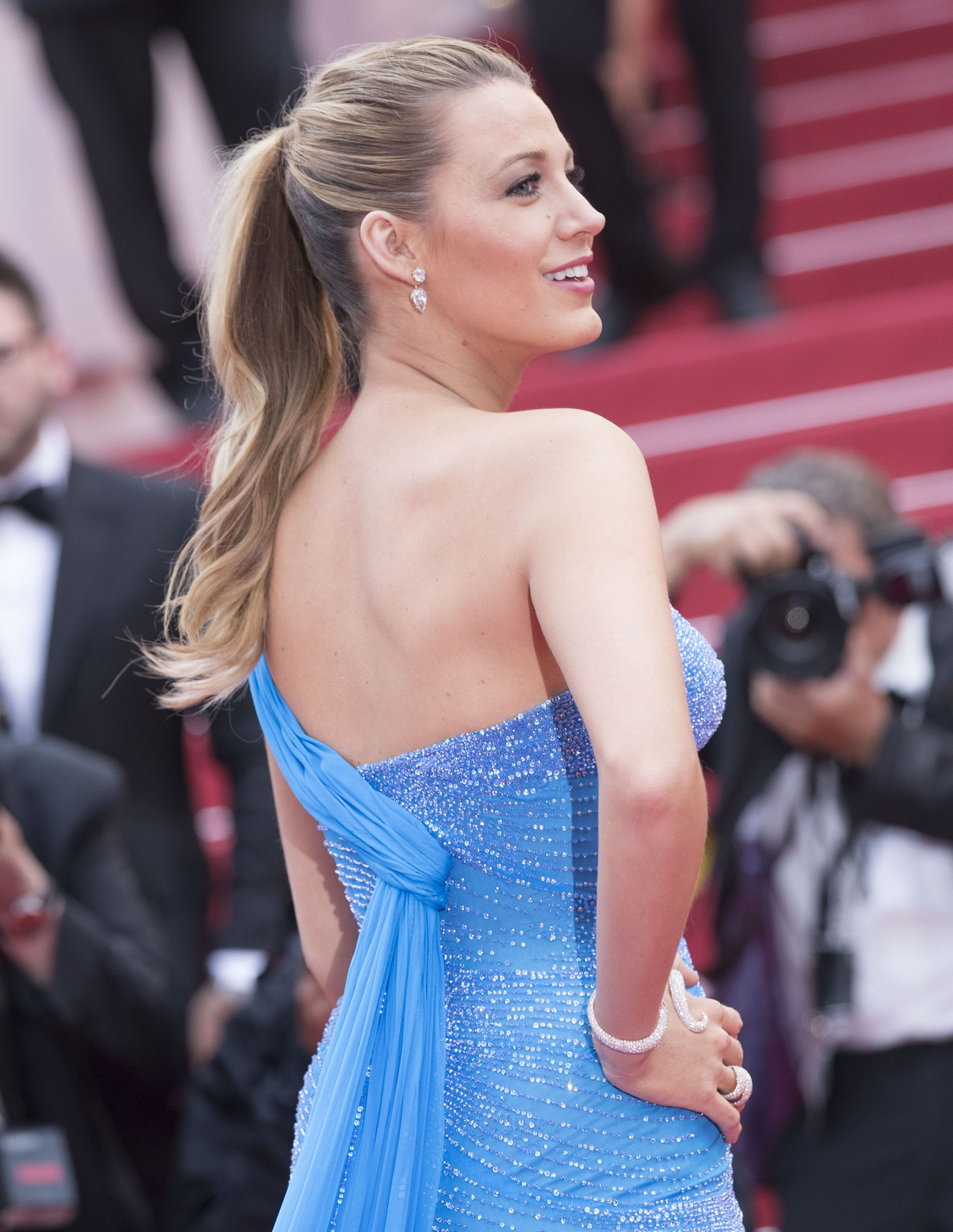 Cannes Well Played, Blake Lively in Atelier Versace