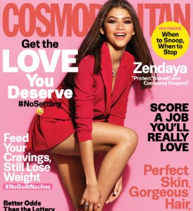 Fug or Fab the Cover: Zendaya on Cosmopolitan, July 2016