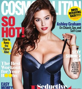 Fug or Fab the Cover: Ashley Graham on Cosmo, August 2016