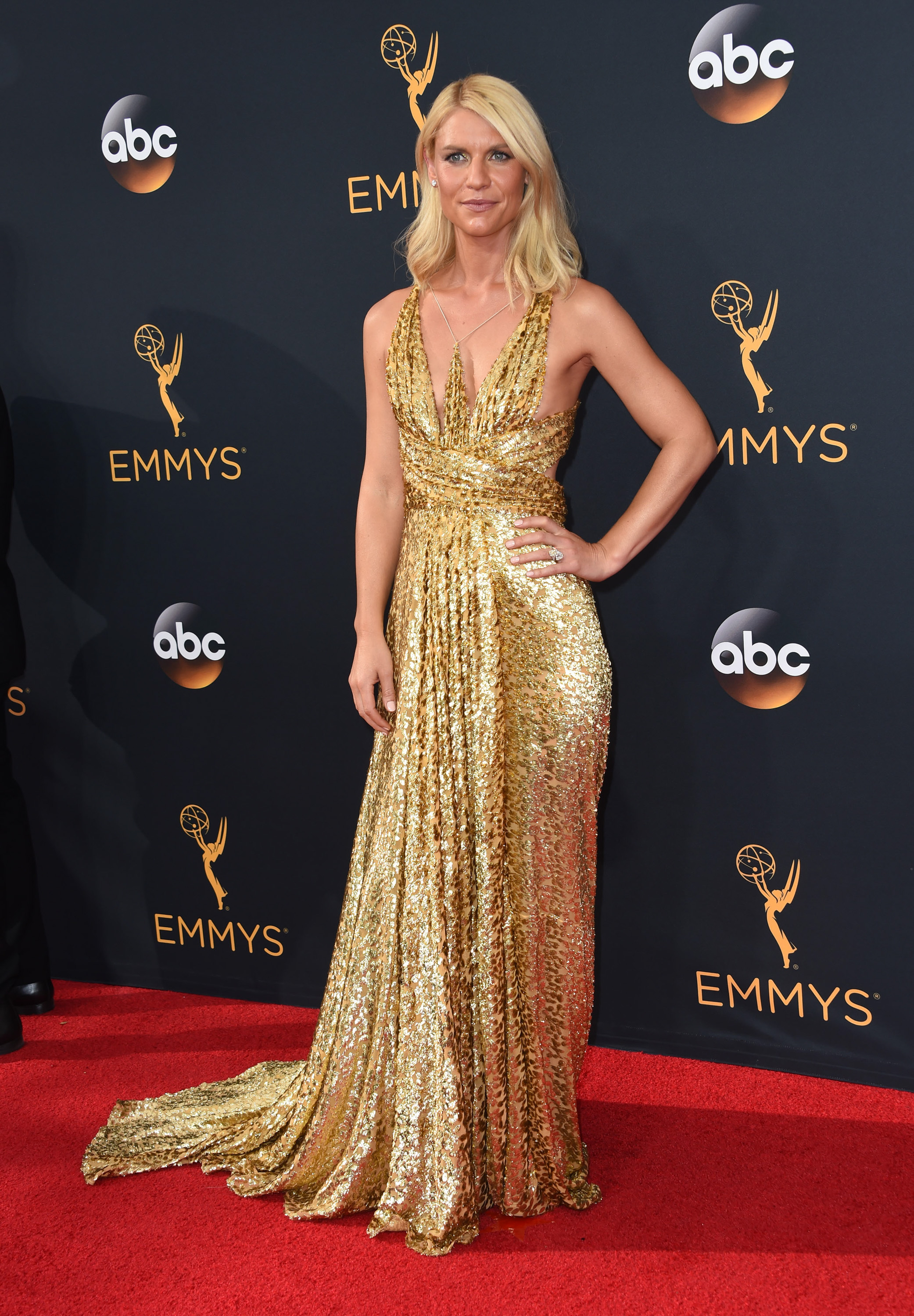 Emmys Fug and Fab: Claire Danes in Schiaparelli