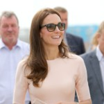 Royally Played, Wills and Kate (in Lela Rose) Visit Cornwall