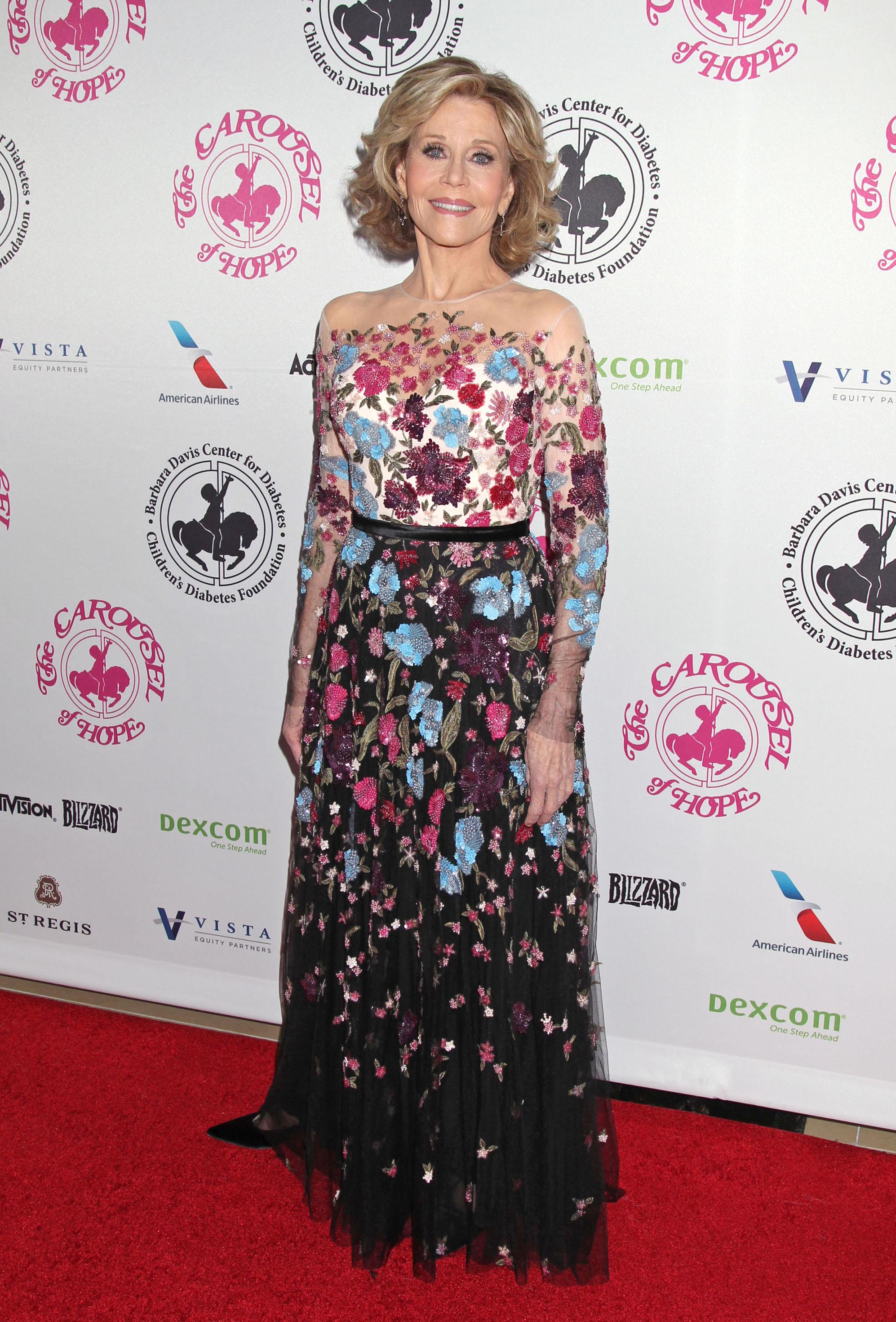 Well Played, Jane Fonda in Zuhair Murad