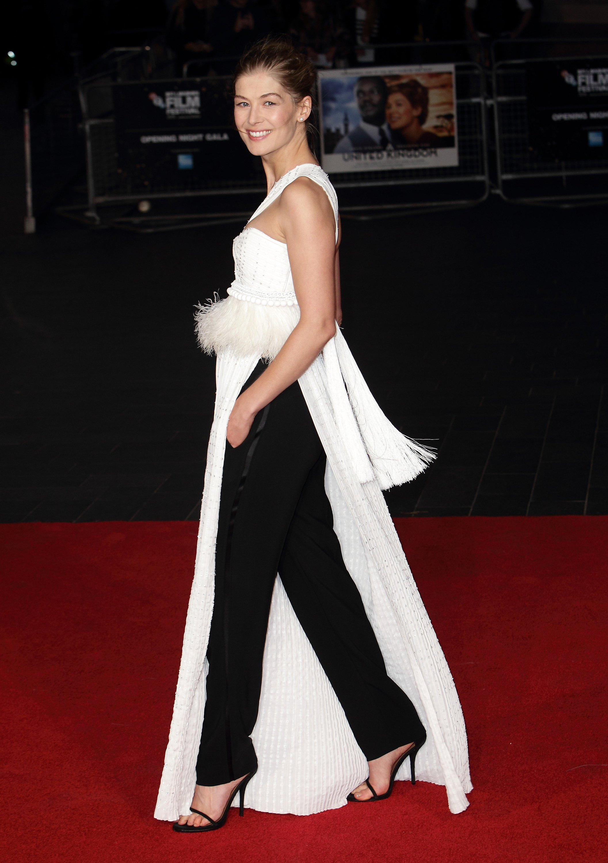 WTF: Rosamund Pike in Givenchy Haute Couture