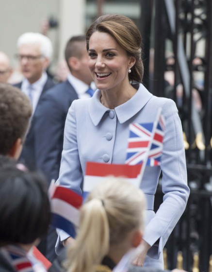Princess Kate Visits The Netherlands