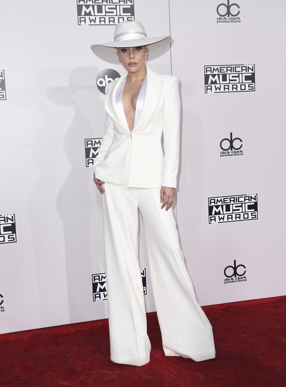 Lady Gaga at the American Music Awards 2016