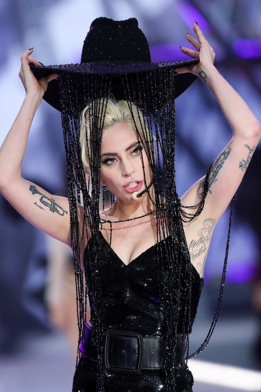 Lady Gaga at the 2016 Victoria's Secret Show