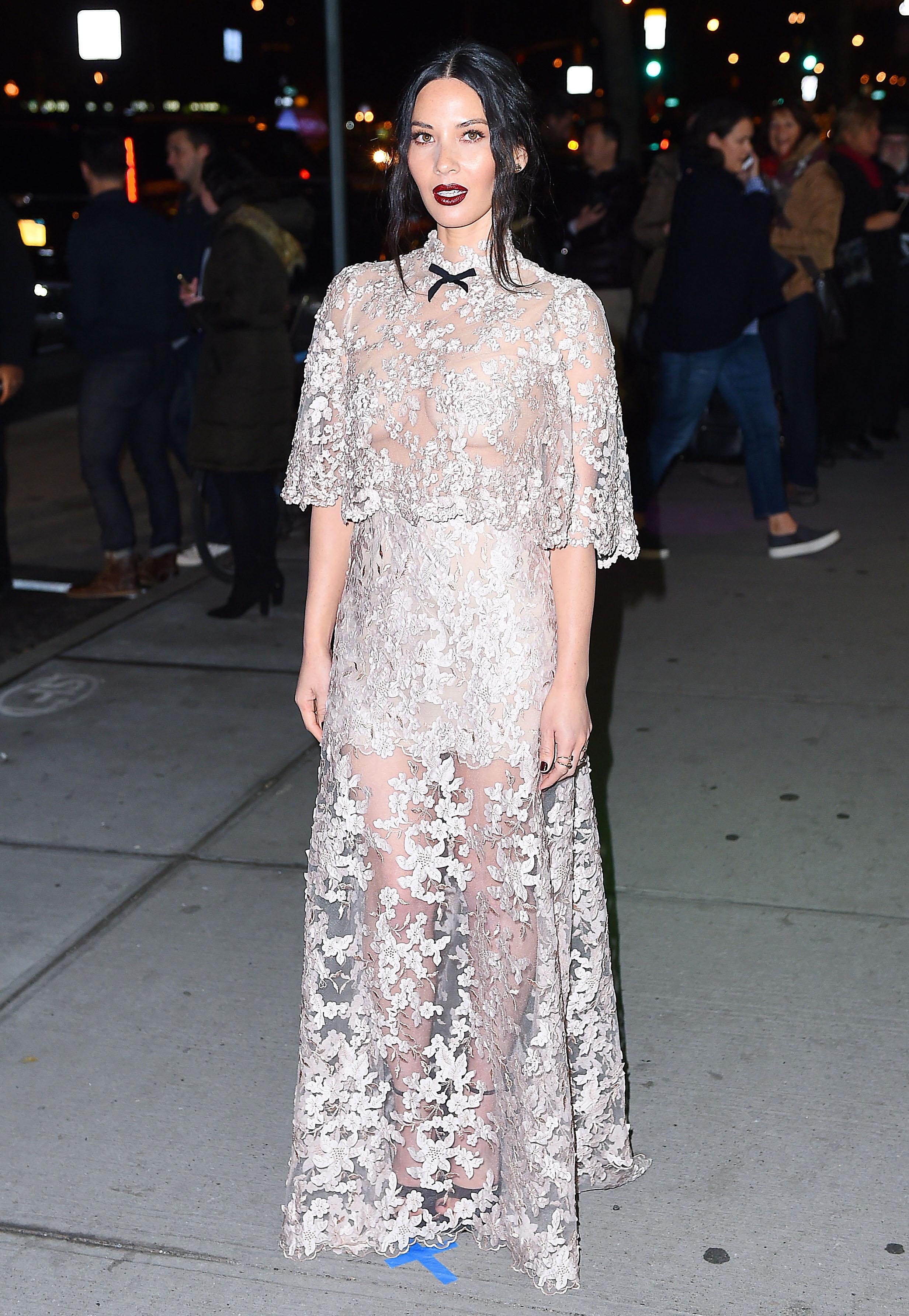 Olivia Munn Looks…Insane, Frankly, in Reem Acra