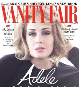 Adele on Vanity Fair, Dec 2016