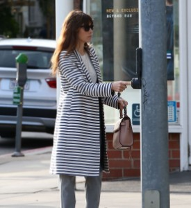 Exclusive... Jessica Biel Out Running Errands In West Hollywood