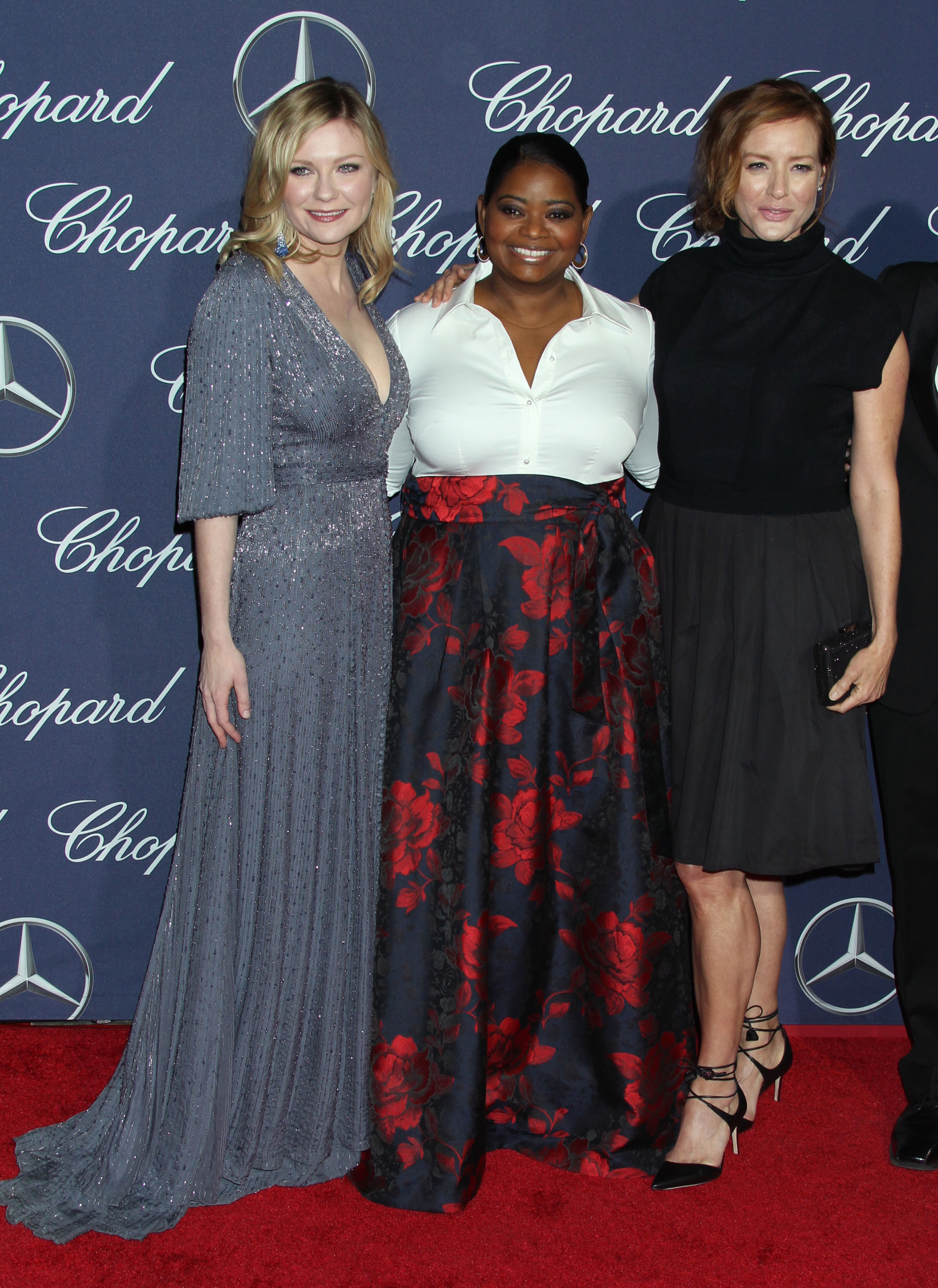 Kirsten Dunst and Octavia Spencer In Palm Springs