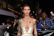 Ruby Rose Gets Really Metallic