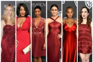 Golden Globes 2017 Post-Parties: Women in Red