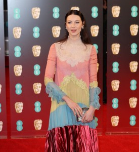 BAFTAs: What Is Caitriona Balfe Thinking?!?!