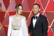 Oscars: Ladies in White and Silver