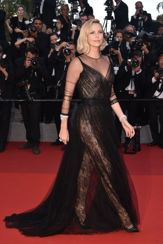 Charlize Theron: The Dior Giveth, And The Dior Taketh Away ...