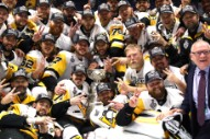 Well Played, Jubilant Men In Beards: The Pittsburgh Penguins Win The Stanley Cup (Again)