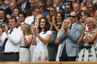 Wills and Kate Embrace Patterns at the Wimbledon Men's Final