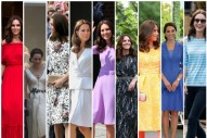 Kate's Wardrobe Retrospective: The Royal Tour of Germany and Poland