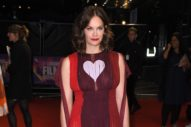 Ruth Wilson's Dress Doesn't Heart Her Back