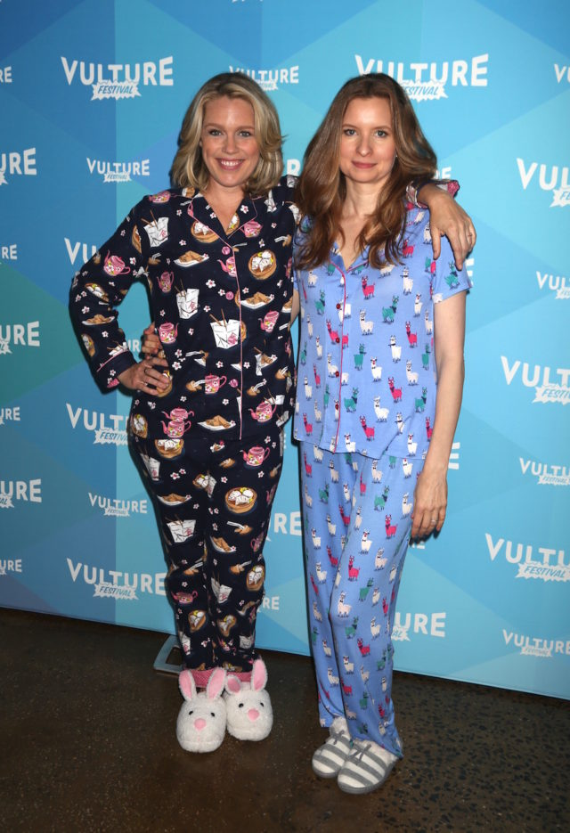 Jessica St Clair and Lennon Parham at Vulture Festival