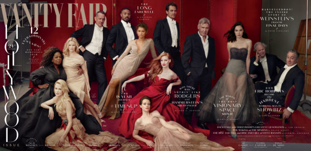 2018 Vanity Fair Hollywood Issue Cover